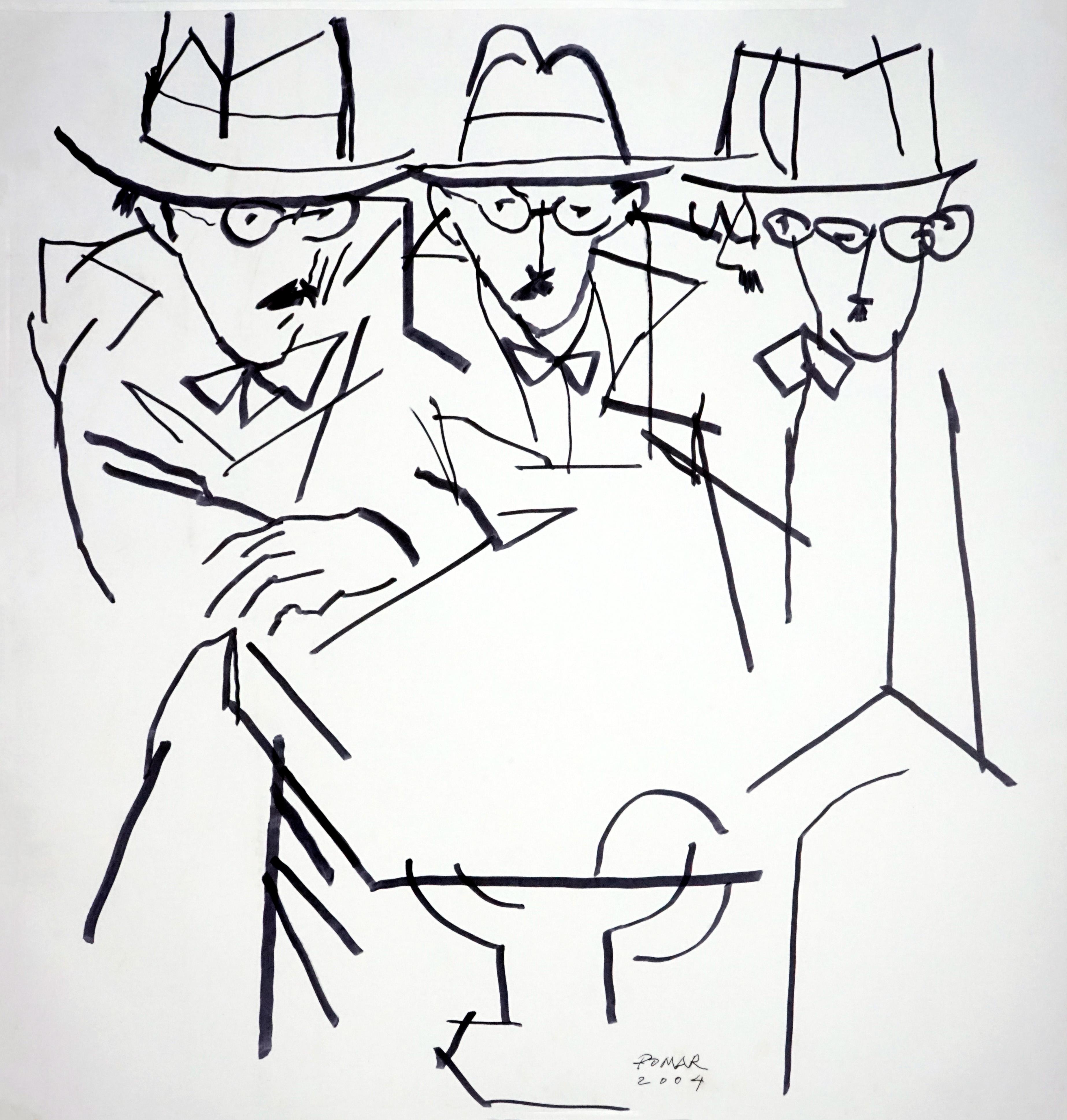 feira-desenho-lisboa-drawing-room-2019-fernando-pessoa-julio-pomar